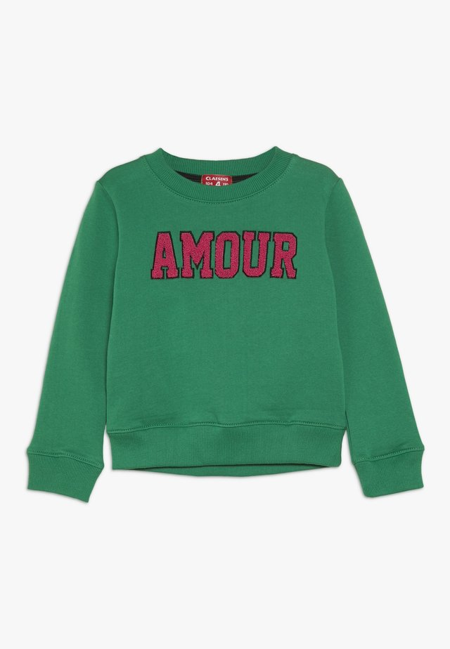 SWEATER - Sweatshirt - green