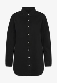 Missguided - WASHED - Chemisier - black - 4