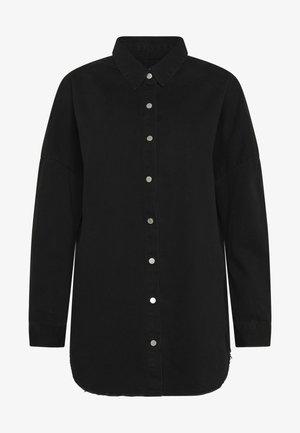 WASHED - Koszula - black