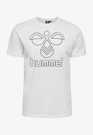 HMLPETER  - T-shirts print - white
