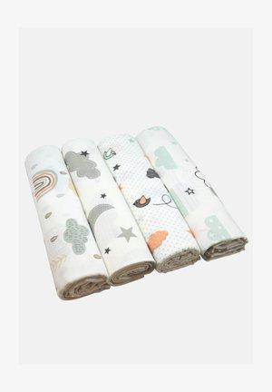 4 PACK  - Baby blanket - 4 wolken mix