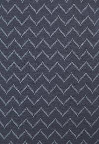 Ragwear Plus - ZIG ZAG - Print T-shirt - denim blue - 7