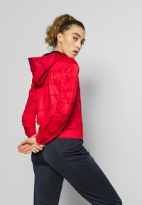 Champion - HOODED FULL ZIP SUIT - Chándal - red - 2