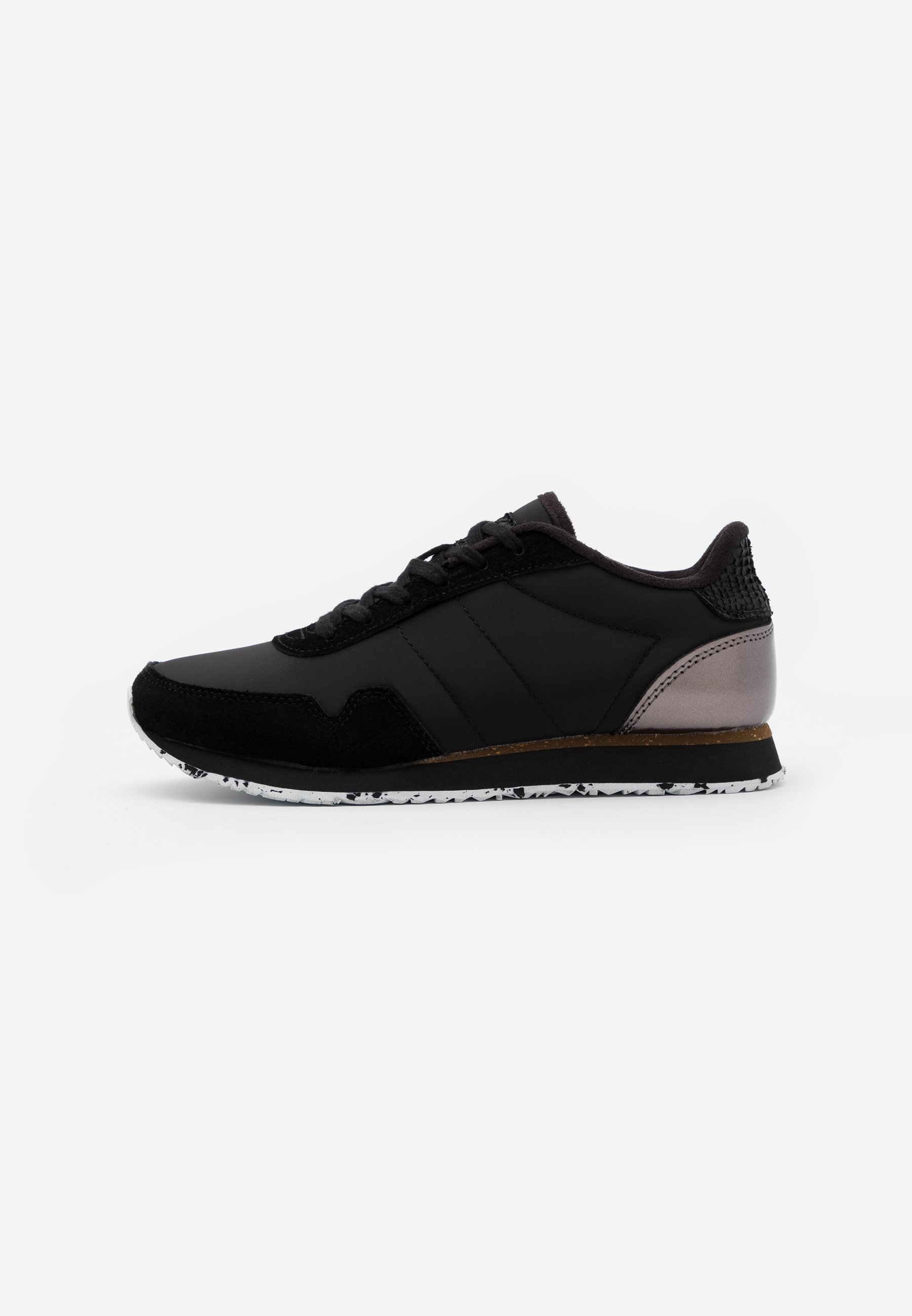 Woden Nora - Sneaker Low Black/schwarz