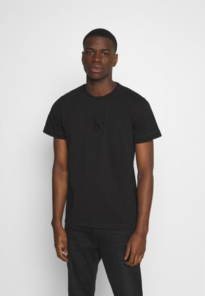 ACID WASH TEE - T-shirt - bas - black
