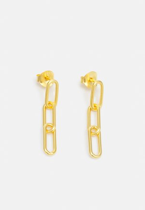 LINK TRIPLE EARSTUDS - Boucles d'oreilles - gold-coloured