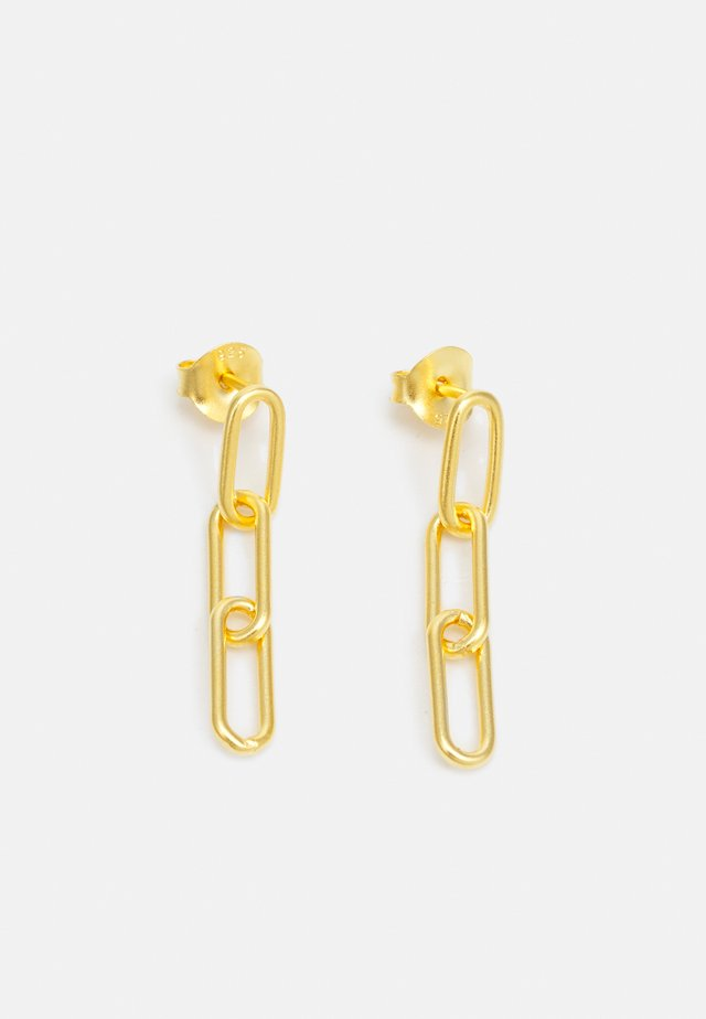 LINK TRIPLE EARSTUDS - Náušnice - gold-coloured