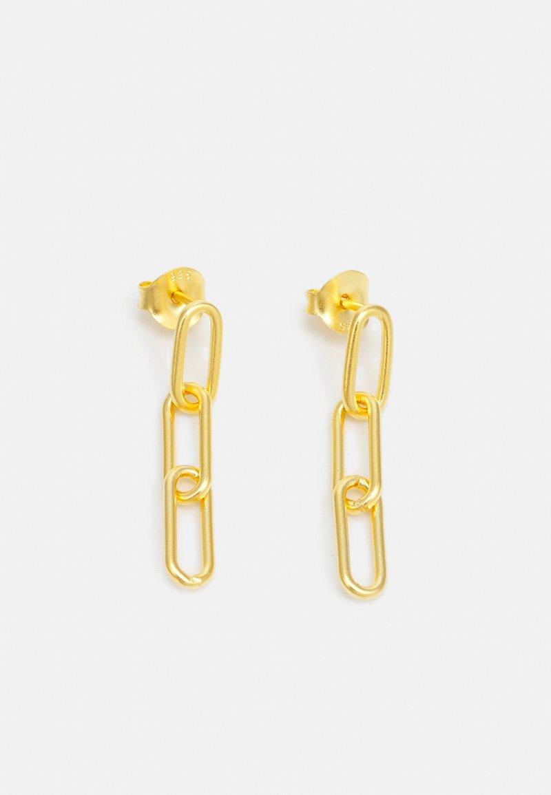 Julie Sandlau - LINK TRIPLE EARSTUDS - Oorbellen - gold-coloured