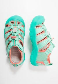 Keen - NEWPORT H2 - Chodecké sandály - cockatoo/coral - 0