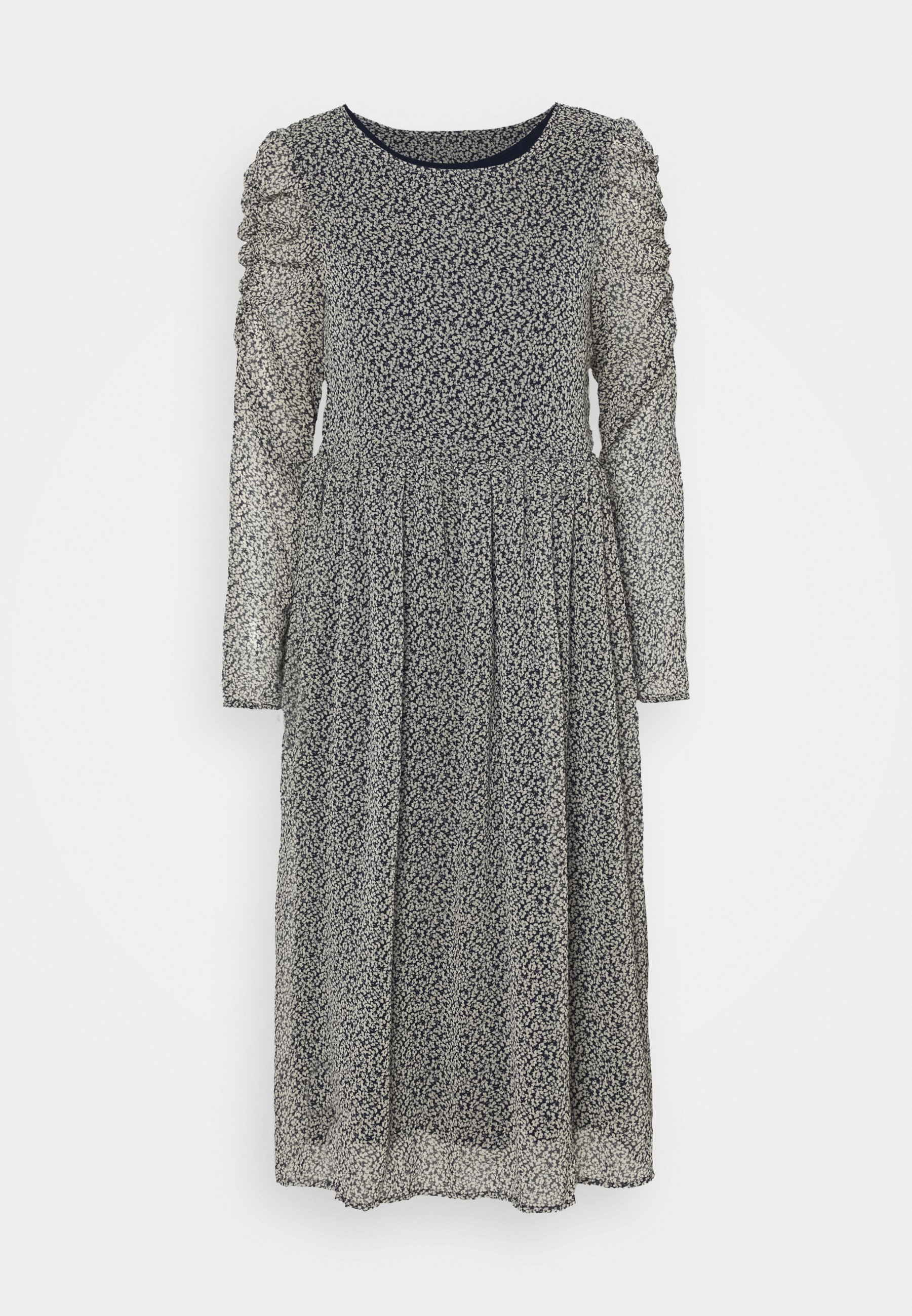 Women VIBERIN O NECK MIDI DRESS - Day dress