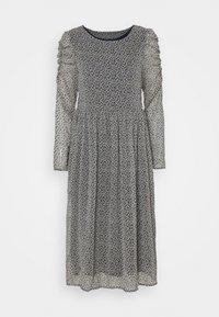 VILA PETITE - VIBERIN O NECK MIDI DRESS - Day dress - navy blazer - 0