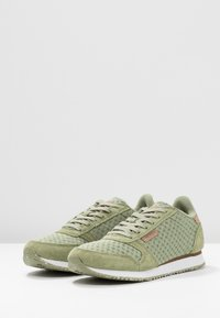 Woden - Ydun Suede Mesh - Trainers - dusty olive - 4