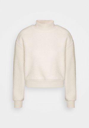 PCSADIE - Fleece jumper - whitecap gray