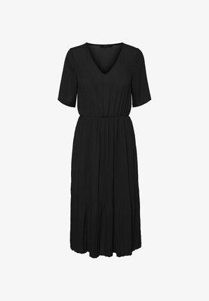 V-AUSSCHNITT - Maxi dress - black