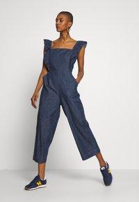 GAP - Tuta jumpsuit - medium indigo - 1