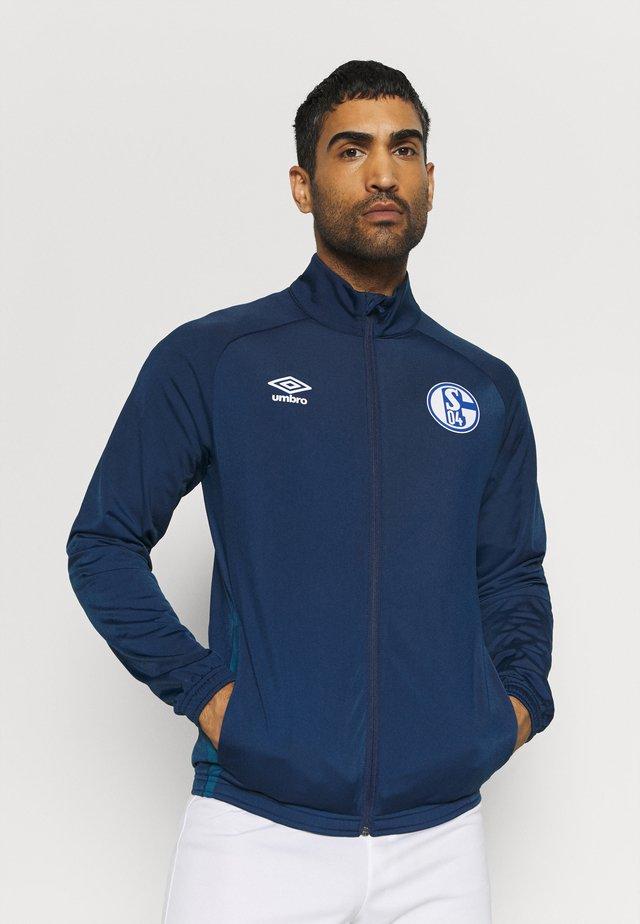 FC SCHALKE 04 JACKET - Club wear - navy/blue sapphire