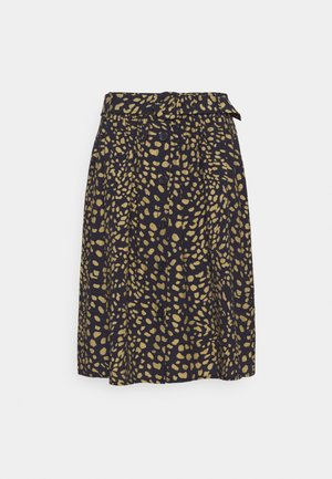 SKIRT SHORT - A-line skirt - marine/multicolor