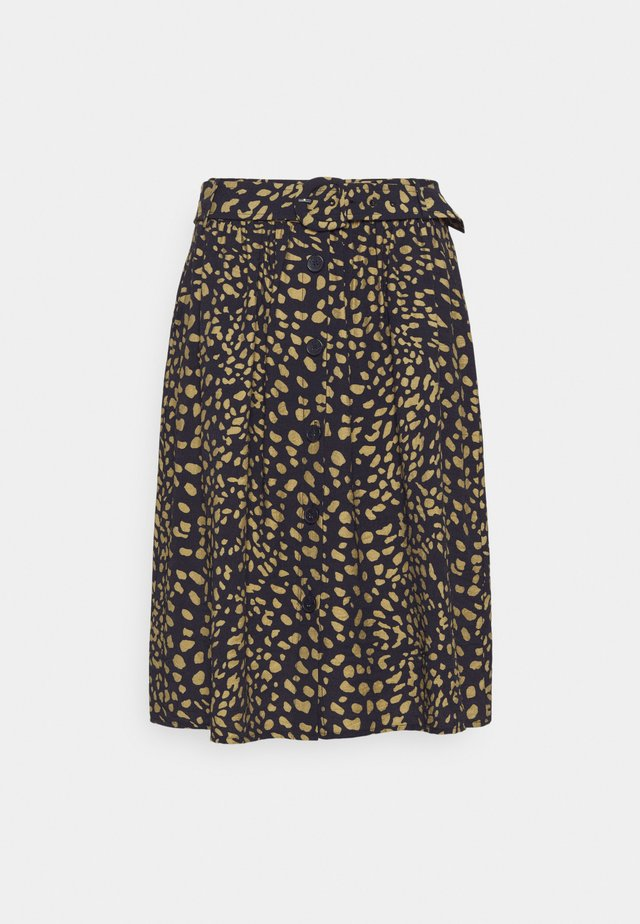 SKIRT SHORT - Jupe trapèze - marine/multicolor