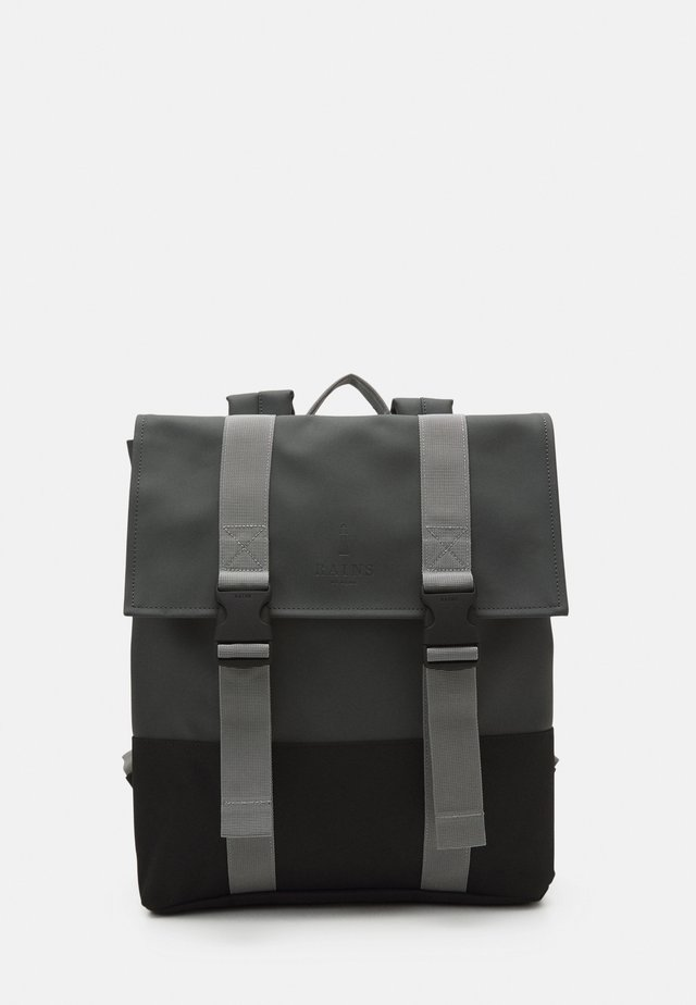 BUCKLE BAG - Zaino - slate