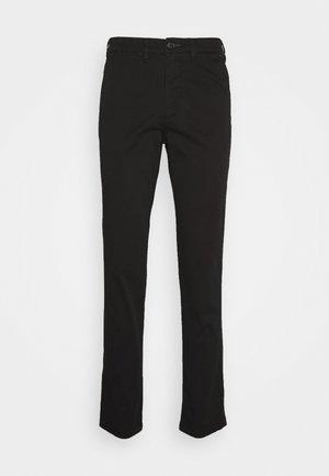 SLHSLIM-MILES - Chino kalhoty - black