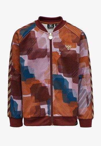 Zip-up sweatshirt - bombay brown