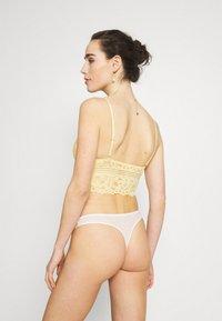 Gilly Hicks - Korzet - wax yellow - 2