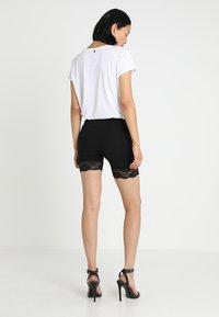 Cream - MATILDA BIKER - Shorts - pitch black - 2