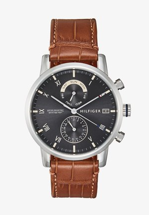 Chronograph - brown/silver