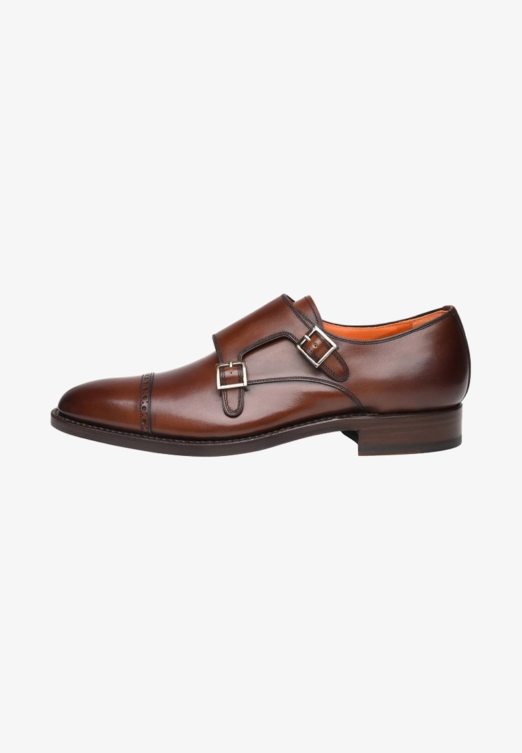 SHOEPASSION - NO. 5424 - Smart slip-ons - brown
