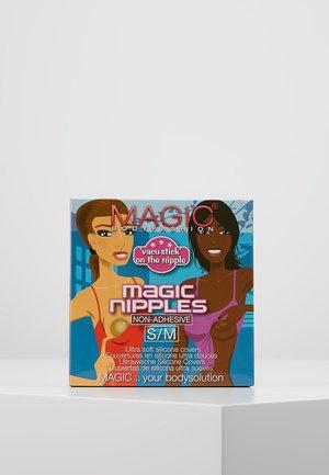 MAGIC NIPPLES - Víceúčelová podprsenka/ podprsenka bez ramínek - mocha
