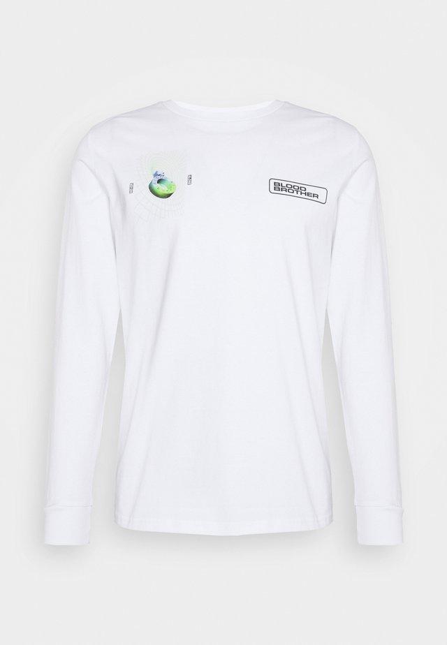 ALDGATE TEE - Langærmede T-shirts - white
