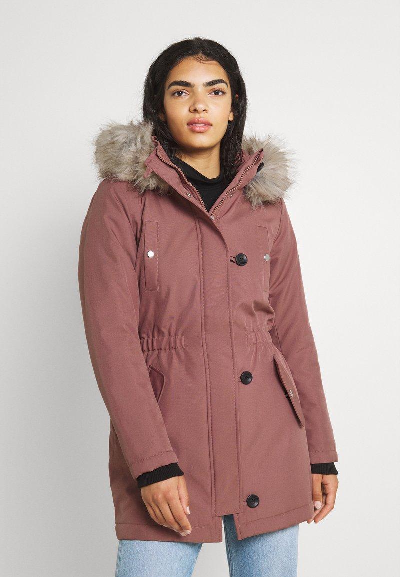 ONLY - ONLIRIS  - Zimní kabát - burlwood