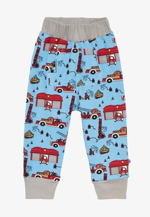 POCKETS FIRETRUCK - Trousers - sky blue