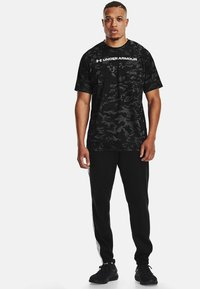 Under Armour - Print T-shirt - pitch gray - 1