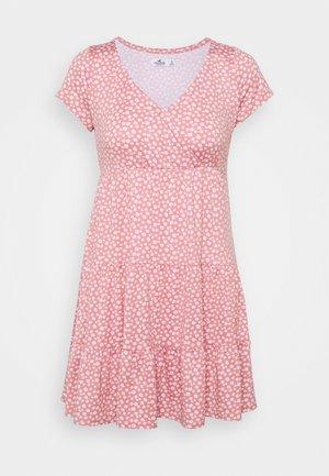DRESS - Jersey dress - canyon rose