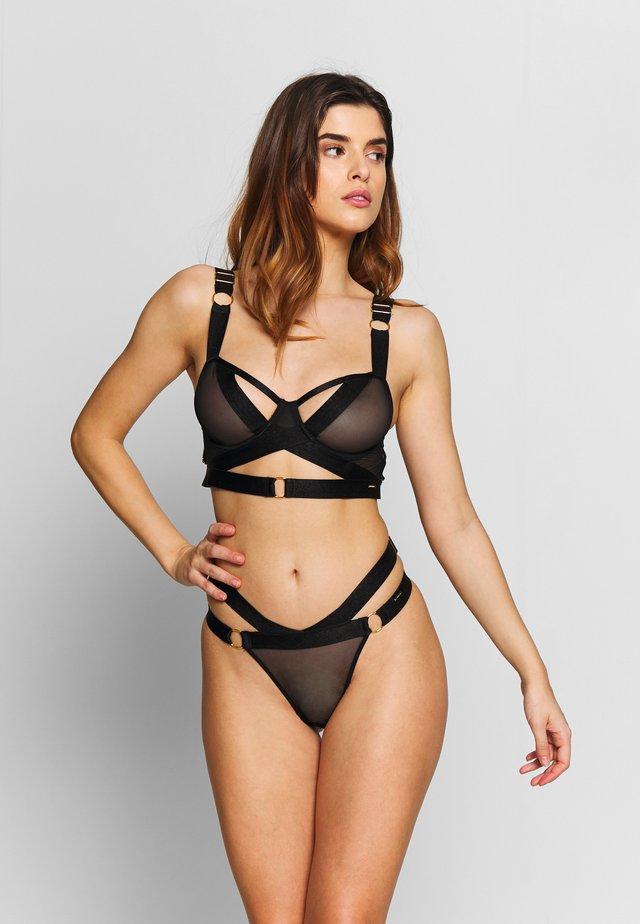 RANI BRA - Underwired bra - black