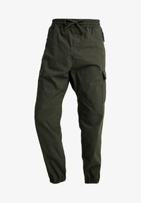 JOGGER COLUMBIA - Cargo trousers - cypress rinsed