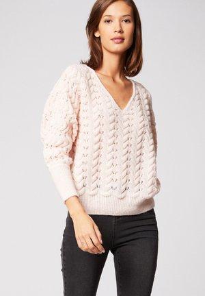 Pullover - mottled rose