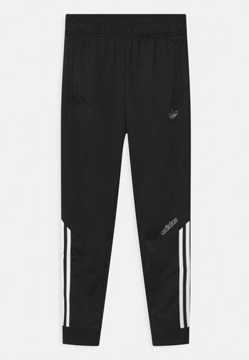 TRACK UNISEX - Pantalon de survêtement - black/white