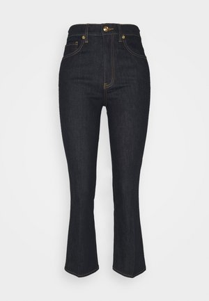 CROPPED - Jeans bootcut - resin rinse