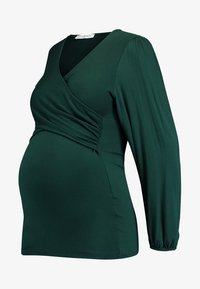 Envie de Fraise - Long sleeved top - dark green - 4