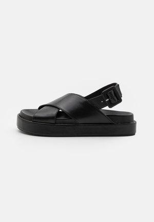 PIPPY - Platform sandals - black