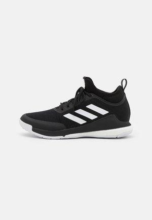 CRAZYFLIGHT MID - Lentopallokengät - core black/footwear white/core black