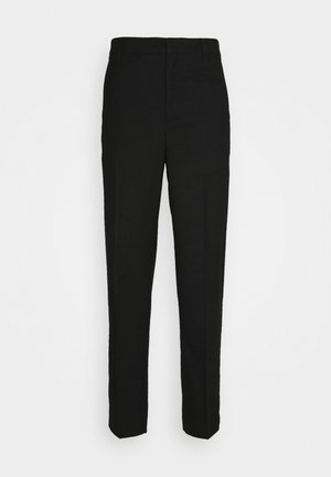 ABRAHAM SUIT TROUSERS - Pantaloni - black