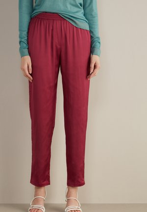 Trousers - sangria