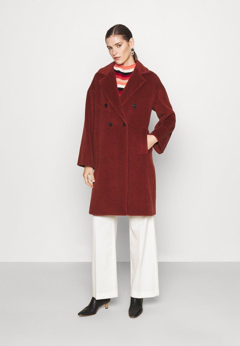 Marella - ZANORA - Classic coat - bruciato