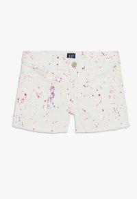GAP - GIRL - Shorts vaqueros - white - 0