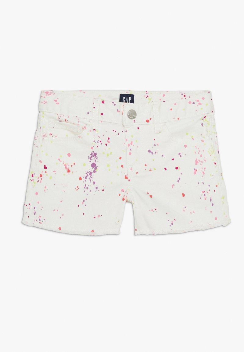 GAP - GIRL - Shorts vaqueros - white