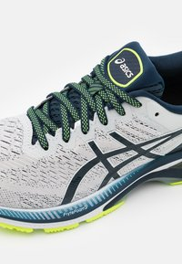 ASICS - GEL KAYANO 27 - Chaussures de running stables - glacier grey/french blue - 5