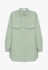 Mango - Button-down blouse - groen - 5